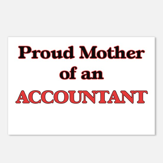 Proud Mother of a Account Postcards (Package of 8)
