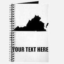 Custom Virginia Silhouette Journal