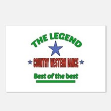 The Legend Country Easter Postcards (Package of 8)