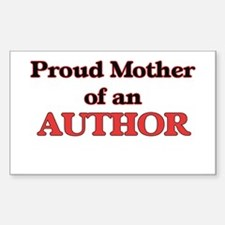 Proud Mother of a Author Decal