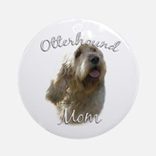 Otterhound Mom2 Ornament (Round)