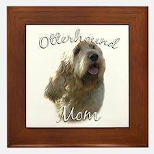 Otterhound Mom2 Framed Tile