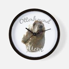 Otterhound Mom2 Wall Clock