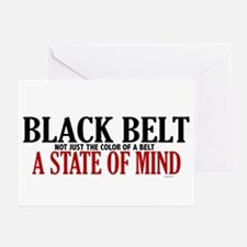 Not Just The Color Of A Belt Greeting Cards (Pk of