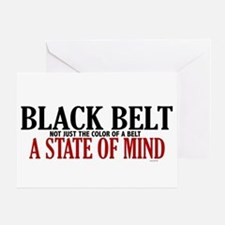 Not Just The Color Of A Belt Greeting Card