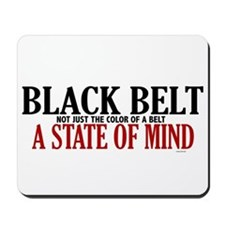 Not Just The Color Of A Belt Mousepad