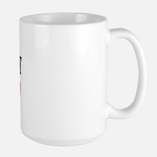 Not Just The Color Of A Belt Large Mug