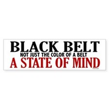 Not Just The Color Of A Belt Bumper Bumper Sticker