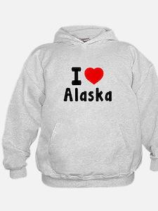 I Love Alaska Hoodie