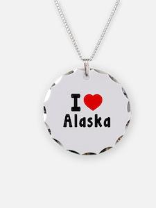 I Love Alaska Necklace