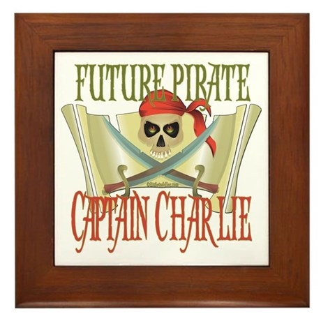 Future Pirates Framed Tile