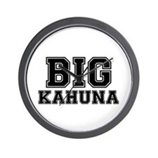 BIG KAHUNA Wall Clock