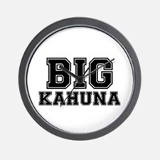 BIG KAHUNA Wall Clock