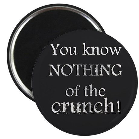 """The Mighty Boosh - Crunch - 2.25"""" Magnet (10 pack)"""