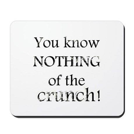 The Mighty Boosh - Crunch - Mousepad