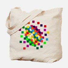 Cube mosaic puzzle Tote Bag