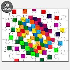 Cube mosaic puzzle Puzzle