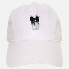 Papillon Mom2 Baseball Baseball Cap