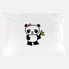 Cute Panda Pillow Case