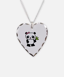 Cute Panda Necklace