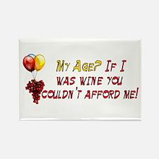 Fine Wine Rectangle Magnet