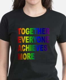 TEAM Together Everyone Achieves More (Rain T-Shirt