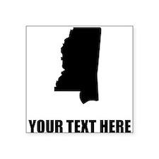 Custom Mississippi Silhouette Sticker