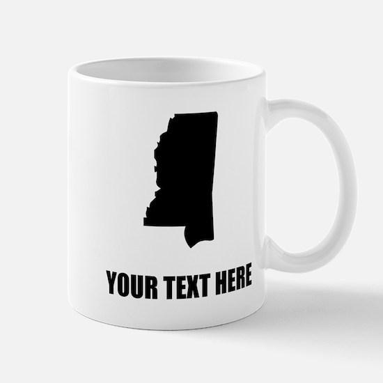 Custom Mississippi Silhouette Mugs