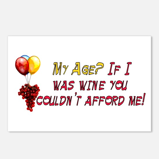 Fine Wine Postcards (Package of 8)