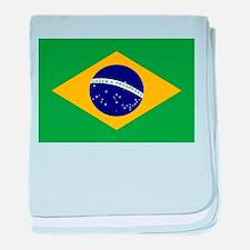 Brasil Flag baby blanket
