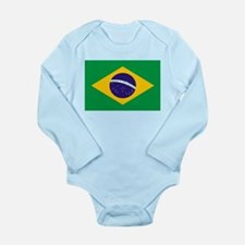 Brasil Flag Body Suit