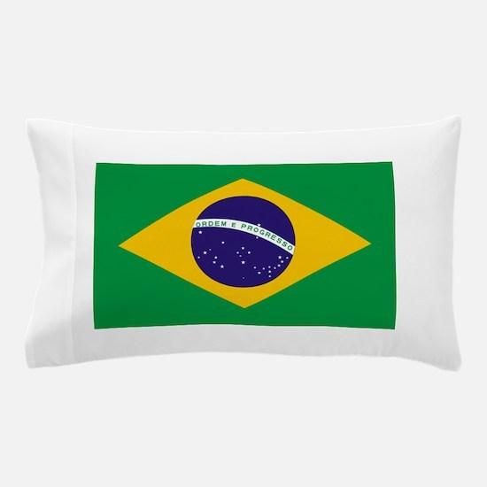 Brasil Flag Pillow Case