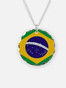Brasil Flag Necklace