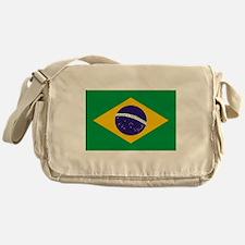 Brasil Flag Messenger Bag
