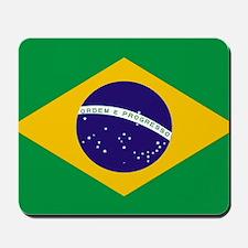 Brasil Flag Mousepad