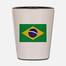 Brasil Flag Shot Glass