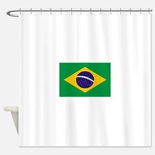 Brasil Flag Shower Curtain