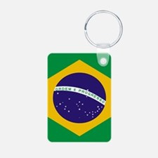 Brasil Flag Keychains