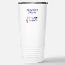 Cute Accounting mens Travel Mug