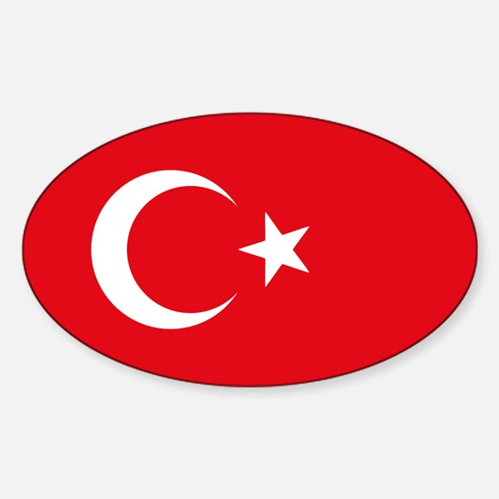 Turkey Flag Decal
