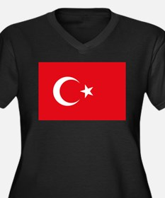 Turkey Flag Plus Size T-Shirt