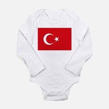 Turkey Flag Body Suit