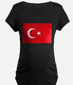Turkey Flag Maternity T-Shirt