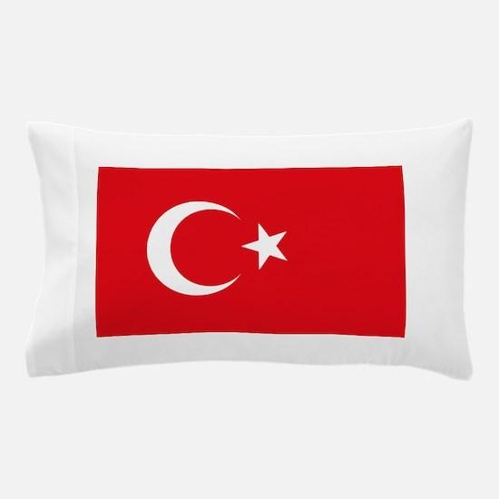 Turkey Flag Pillow Case