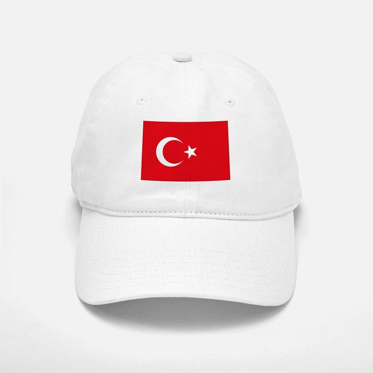 Turkey Flag Baseball Baseball Cap