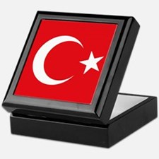 Turkey Flag Keepsake Box