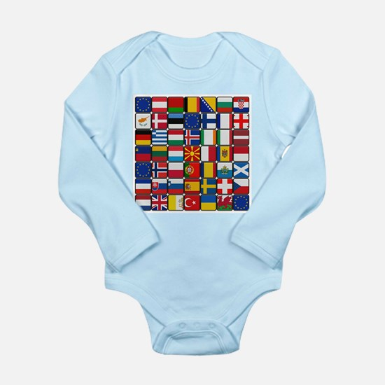 Flag of Flag Body Suit