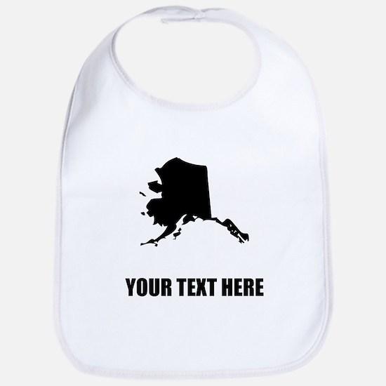 Custom Alaska Silhouette Bib