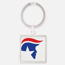 Cute Donald Square Keychain