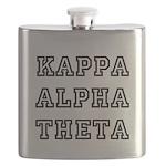 Kappa Alpha Theta Flask
